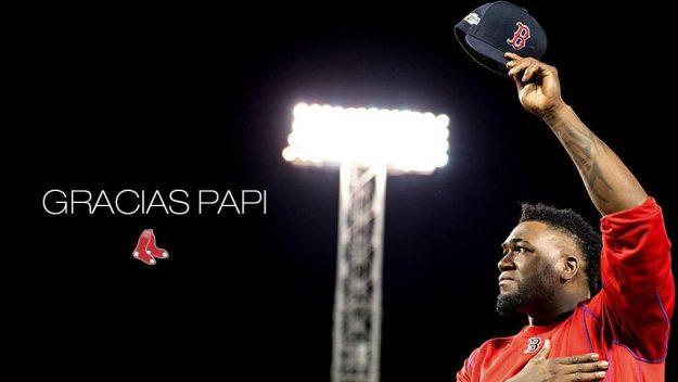 El toletero dominicano se retira como una leyenda de una ciudad amante del deporte. Foto: Boston Red Sox.