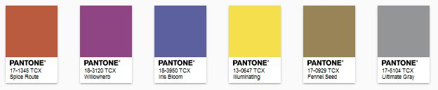 PANTONE - color of the year 2021 - Paleta Intrigue