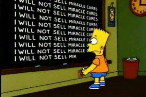 Bart predijo el futuro