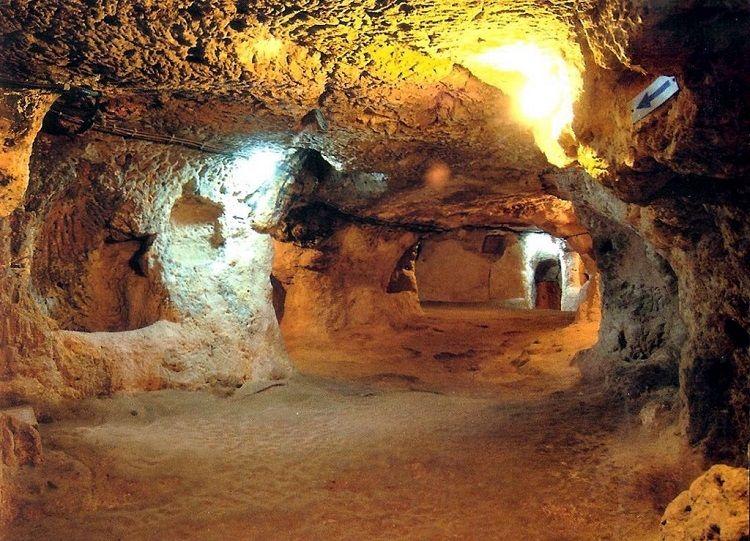 DERINKUYU vista subterranea