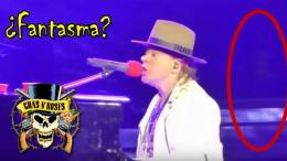 fantasma en concierto de guns and roses