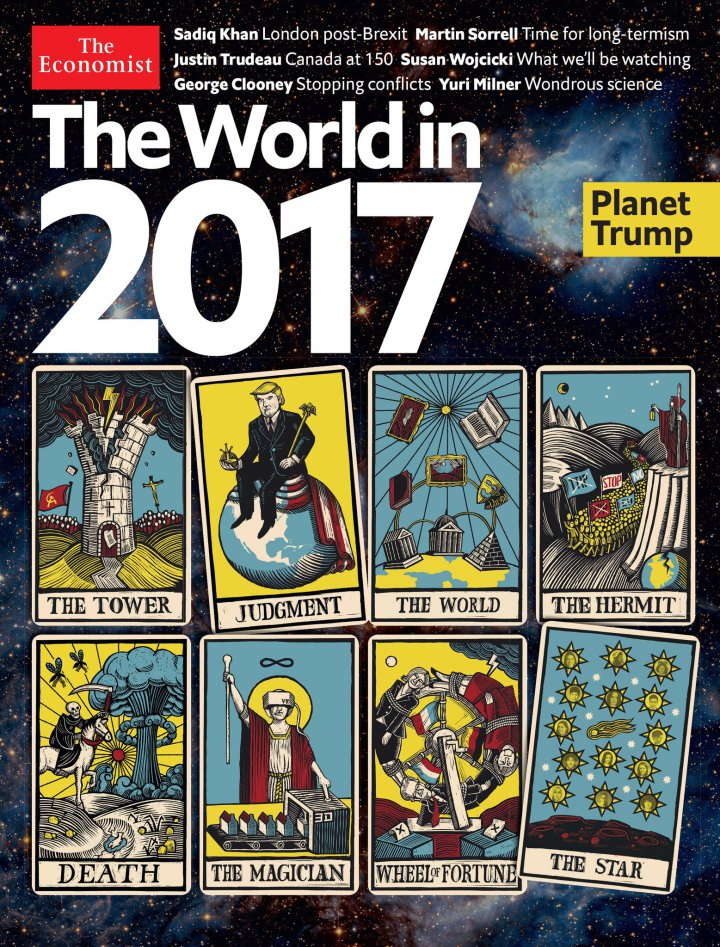 Portada de la Revista The Economist