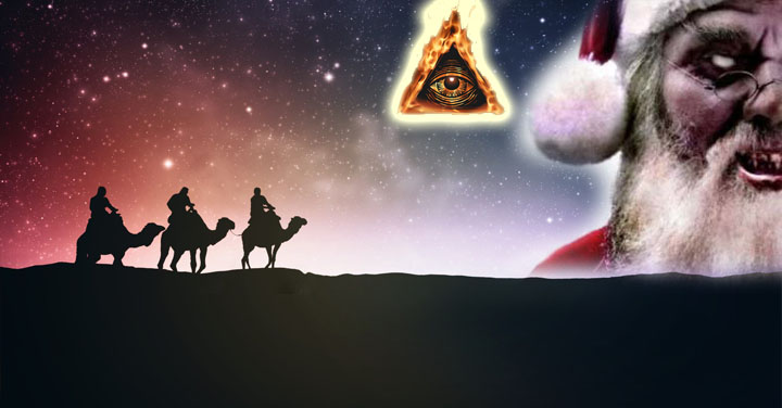simbolos navidad diablo origen