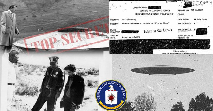 La CIA desclasifica archivos secretos sobre OVNIS