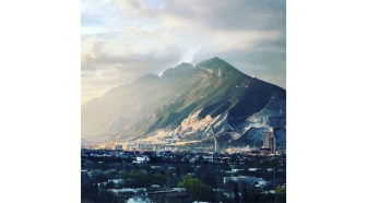La majestuosidad del Cerro de la Silla.