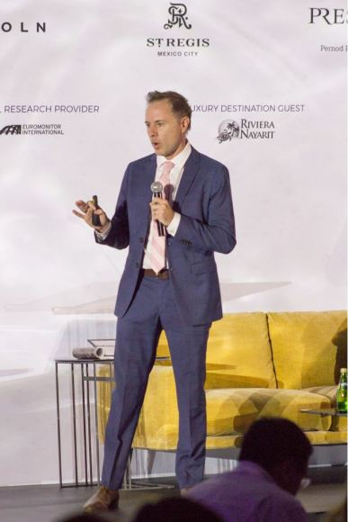 George Mitchell, director de innovación de la compañía Next Story Group