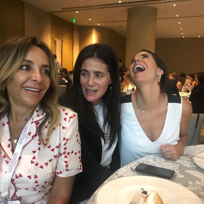 Luisa Serna, Jo Faria, Daniela Carranza.