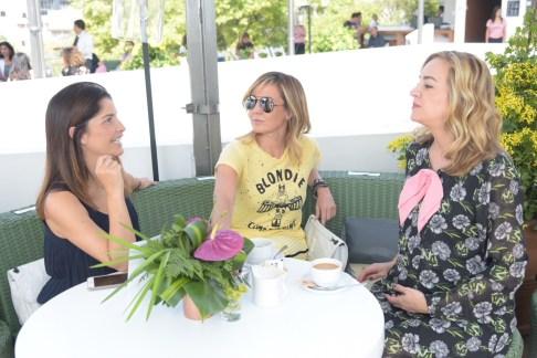 Alejandra Vargas, Mercedes Fortes y Bárbara Albert