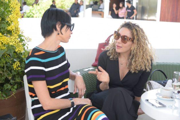 Celina del Villar y Zarina Rivera