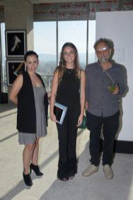 Andrea Michel, Elena Graf y Roberto Turnbull