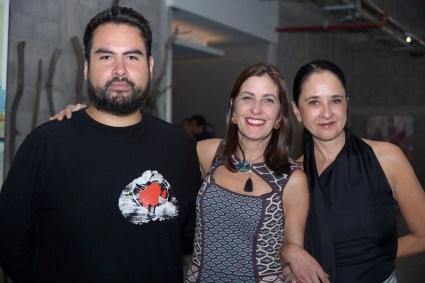 Octavio Avendaño, Lilia Rocha y Paulina Peña