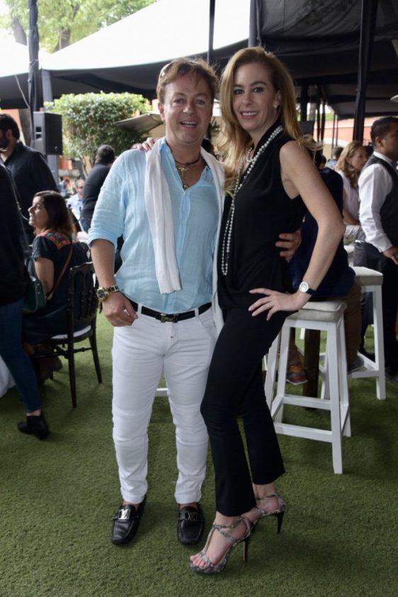 Helio Fajardo y Jessica Volin