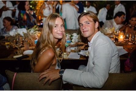 Talita Von Furstenberg y Rocco Brignone