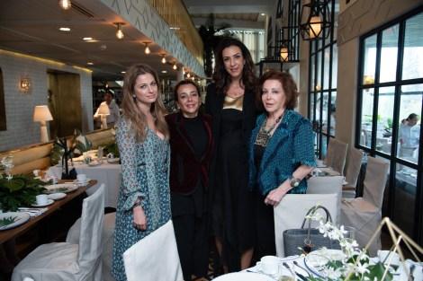 Maricarmen López, Luisa Serna, Celia Daniel Luisa María Barrera