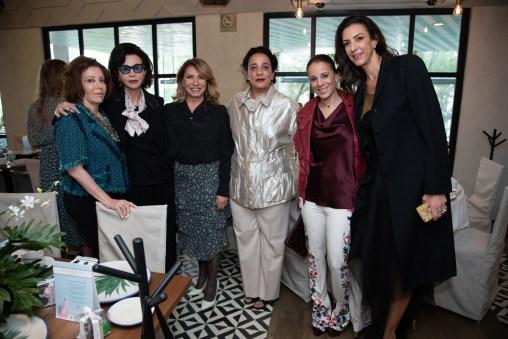 Luisa María Serna, Pepita Serrano, Maribe Lancione, Alma Salem, Aline Salem, Celia Daniel