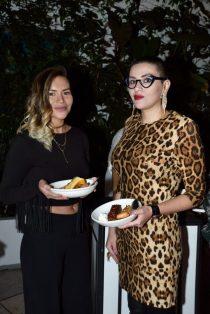 EVENTO: Cena de Accion de Gracias en el Hotel Condesa DF, Roma, 22 de Noviembre de 2018, Fotos. Veronica Gardu–o Soto. Pie de Foto: Mar'a Fernanda y Tabata Jimenez