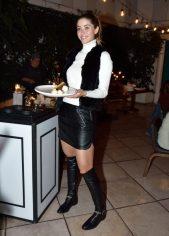 EVENTO: Cena de Accion de Gracias en el Hotel Condesa DF, Roma, 22 de Noviembre de 2018, Fotos. Veronica Gardu–o Soto. Pie de Foto: Ana Giraud