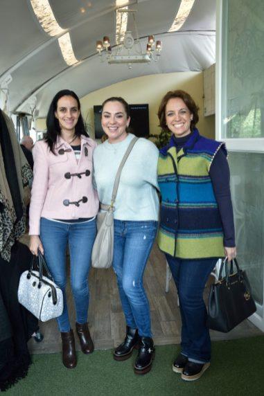Sonia S‡mano, Carolina Orozco y M—nica Pav—n