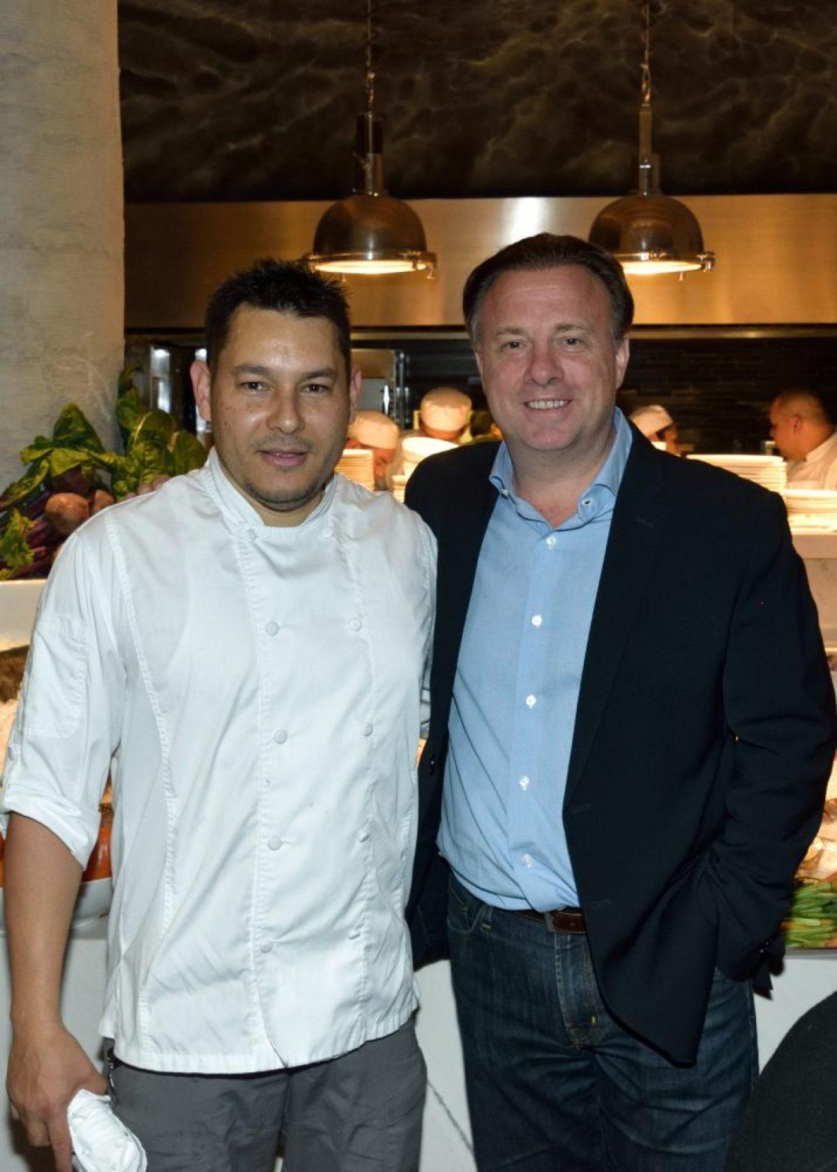 REST NOSTOS, Pie de Foto: Chef Rene Lungarai y Felipe Williamson.
