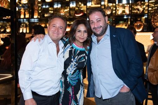 José Luis Campera, Fernanda Campos, Isaac Sason