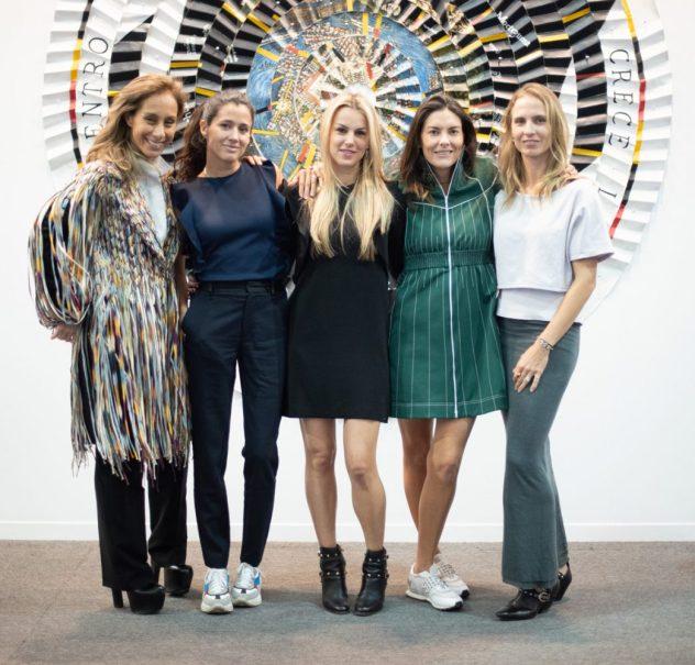 Carla Juan, Patricia Hirschfeld, Daniela Urquiza, Elia Mary Khightl, Nina Fernández