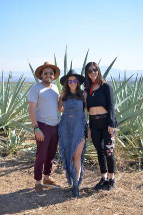 9 de marzo, Mezcal Amores Experience, Fiesta, Oaxaca, Oaxaca, Mauricio Medina, Ana Gasque de Medina y Jimena Millet, FOTO: Hildeliza Lozano
