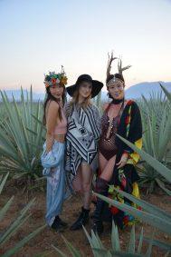 9 de marzo, Mezcal Amores Experience, Fiesta, Oaxaca, Oaxaca, Bess Msy, Leah Estreichen y Sylvia Lee, FOTO: Hildeliza Lozano