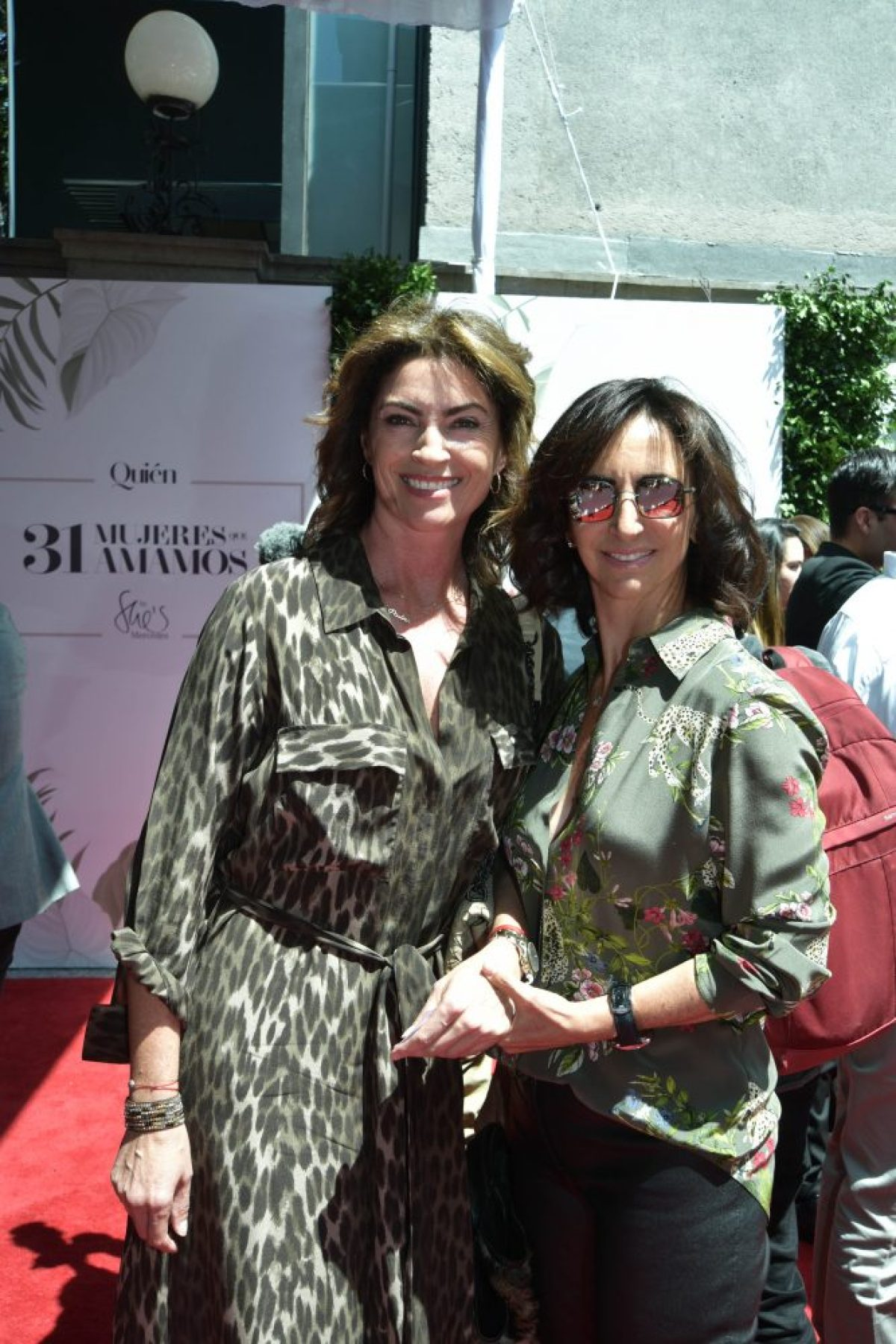 Pilar Fajer y Renata Chain