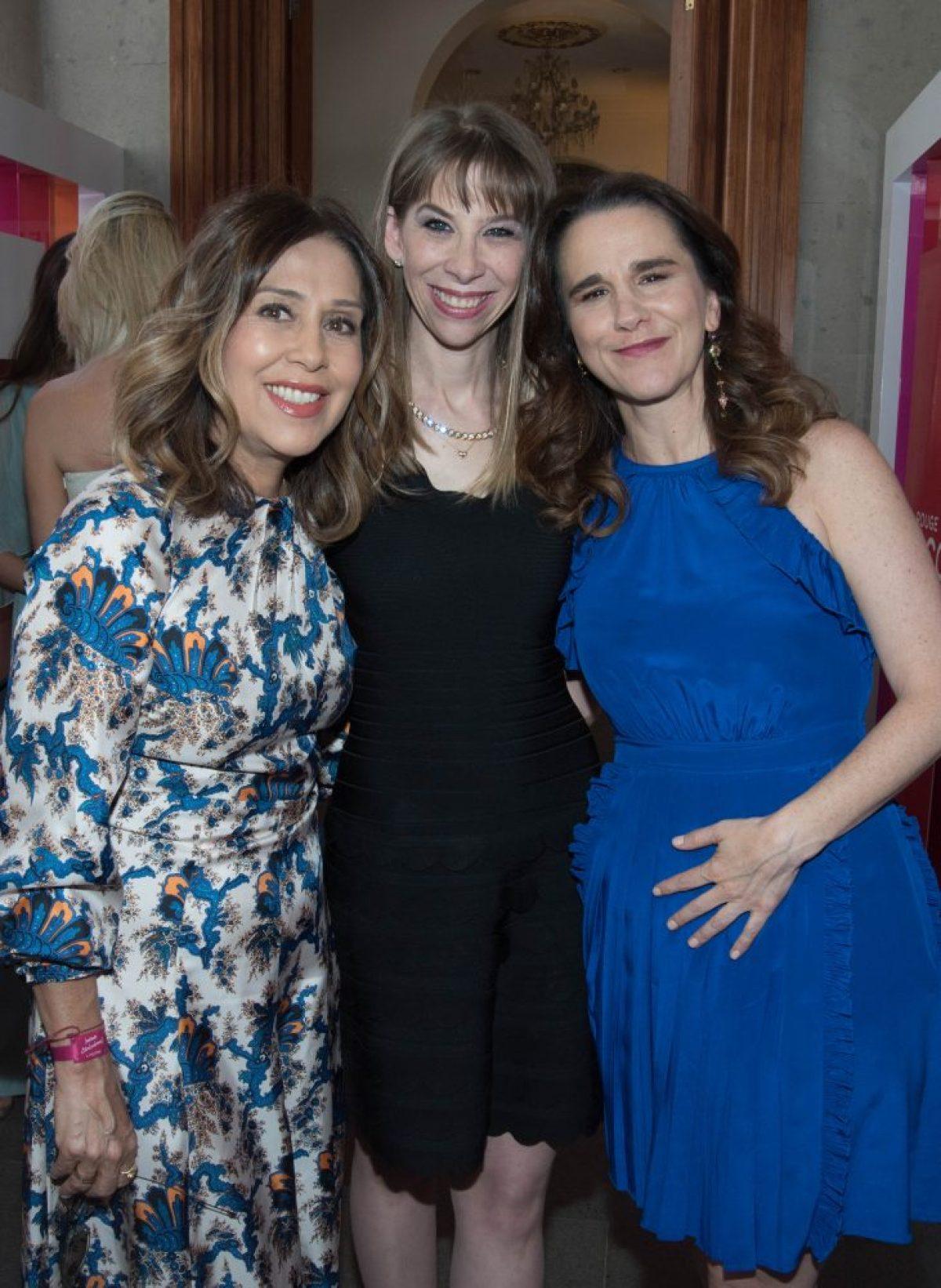 Janina Serdio, Karla Berman y Blanca Juana Gomez Morera