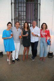 Daniela Roel, Moises Micha, Virna Winckelmann, Alejandro Bolin, Fanny Carrillo (2)