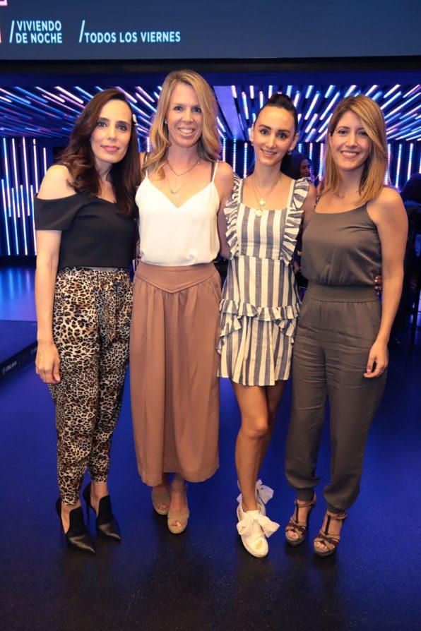 Vanessa Torres, Karin Palme, Angie Aguilar, Regina Stacpoole