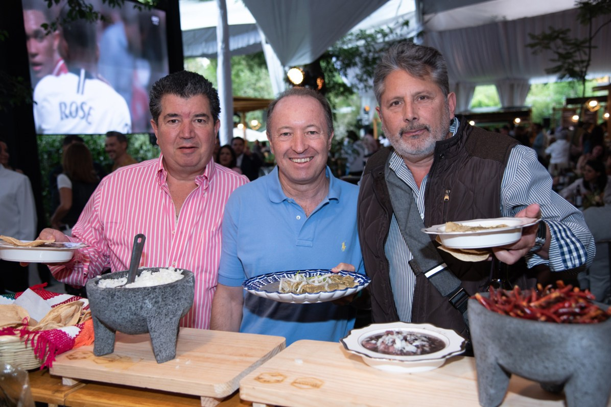 Mauricio Martínez, Pablo Beltrán, Ósacar Ruesga