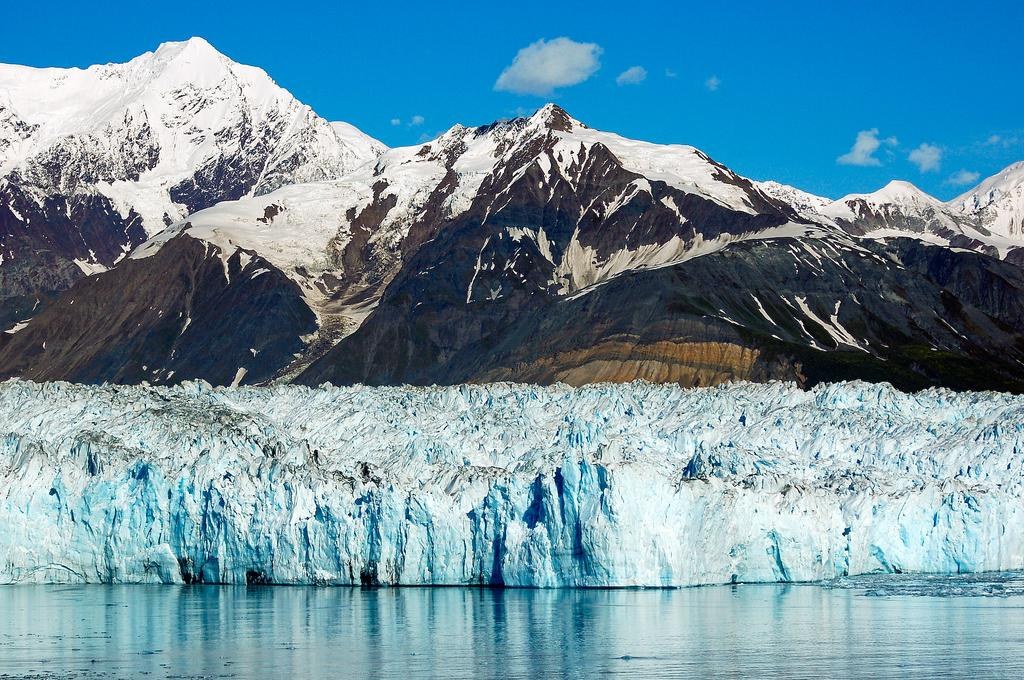 ALASKA Glaciar HUBBARD Paisaje CRUCERO