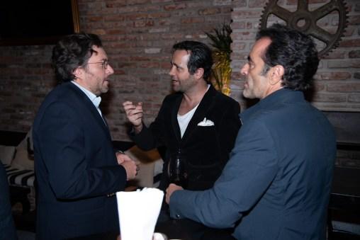 Pepe Villareal, Roberto Slim, Luis Nartchi