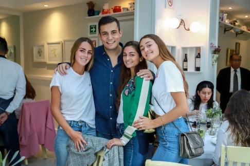 Sophia Guindi, Óscar Pérez, Alexandra Guindi, Natalia Guindi