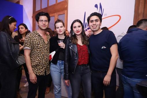 Héctor Rodríguez, Elsa Joseph Renoux, Naville Barajas y Jonathan González