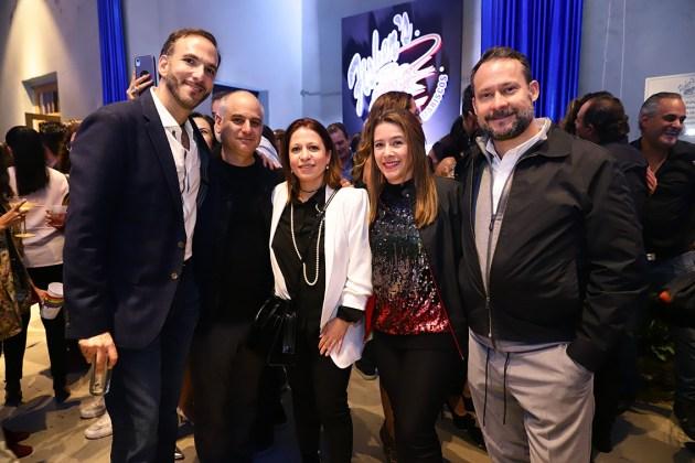 Gabriel Hamparzumian, Salomón Alfie, Liza Alfie, Erika Verá y Adolfo Zavala