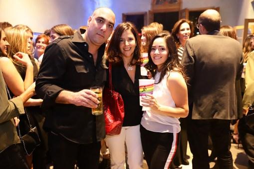 Simón Hamparzumian, Martha Parra y Marta Aguilera