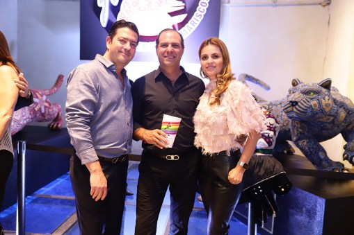 Alfredo Said, Mauricio y Alexandra Nacif
