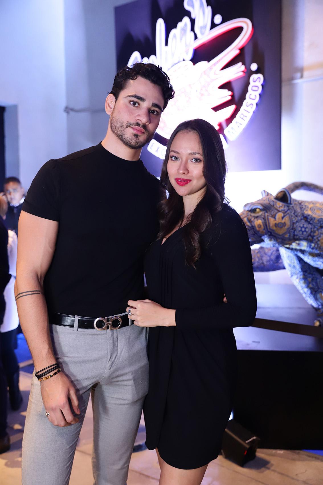 Dan Henry y Paola Masciadri
