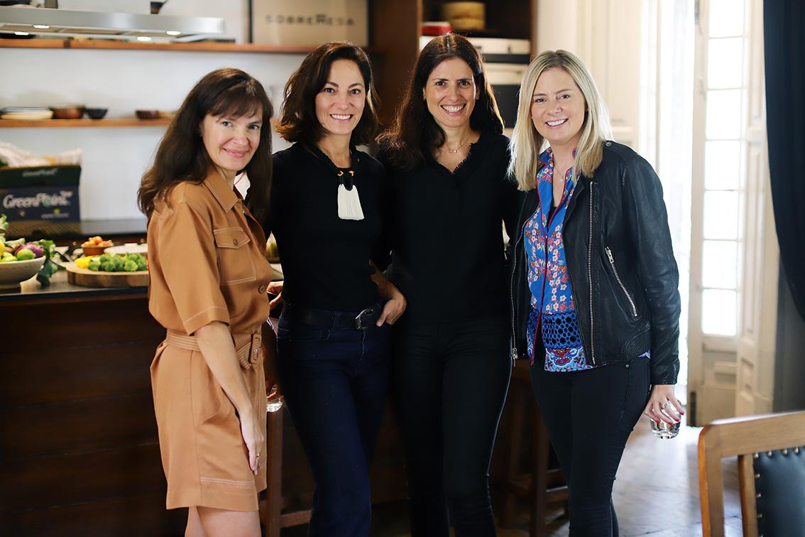 Ilana Ospina , Sandra chollet, Elodie Weil y Ana Fernández