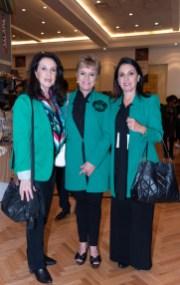 Dulce María Martínez, Elia Contreras, Alejandra Vial