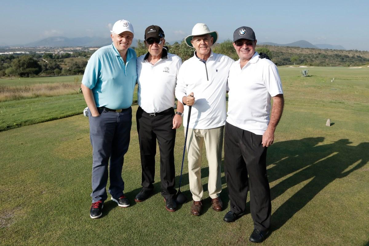 John Suttcliff, Hugo Burgos, Jorge Quinzaños y Enrique Molina
