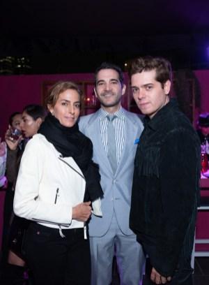 Paola Saad, Juan Acevedo, David Souza