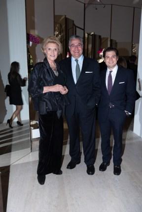 Viviana Corcuera, Martín Olavarrieta, Sebastián Olavarrieta