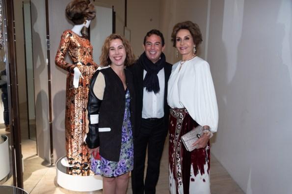Ruth Ozeyevitz, Eugenio López, Nieves Álvarez
