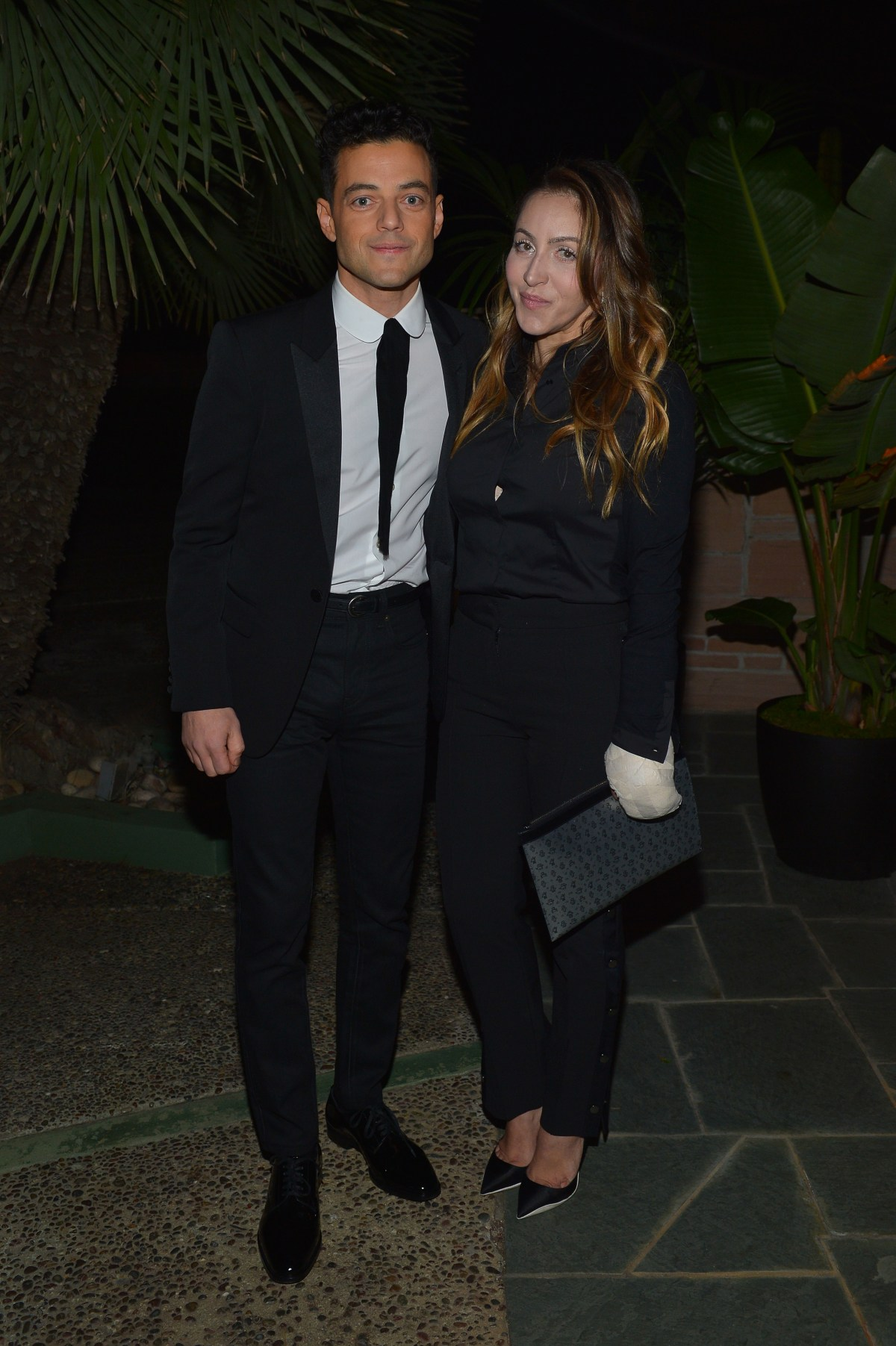 Saint Laurent Pre-Golden Globes Party Hosted By Anthony Vaccarello And Rami Malek