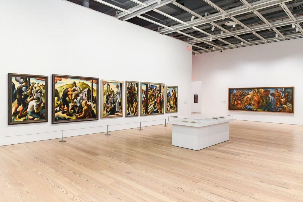 Exposición de arte:Vida Americana