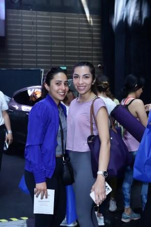 Galilea González y Marina Aguirre