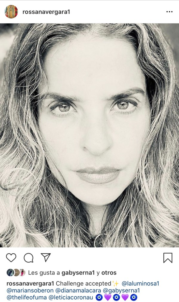 #challengeaccepted Rossana Vergara